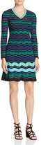 M Missoni Ripple Ribbon Stitch Dress