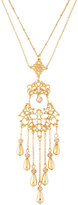 Fragments for Neiman Marcus Long Filigree Tassel Pendant Necklace
