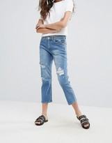 Cheap Monday Level Destroyed Boyfriend Jeans