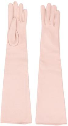 Manokhi Long Textured Style Gloves