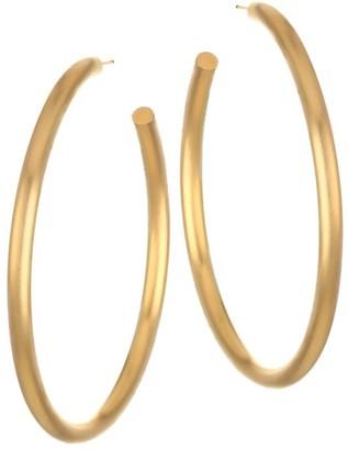 Dean Davidson 22K Goldplated Hoop Earrings