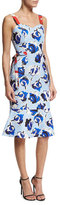 Sachin + Babi Ailey Sleeveless Floral Fit-and-Flare Dress