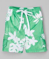 Kanu Surf Green Voyage Swim Trunks - Infant Toddler & Boys