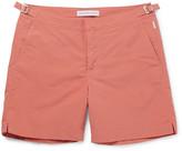 Orlebar Brown Bulldog Mid-length Swim Shorts - Peach