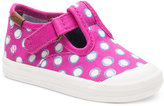 Keds Toddler Girls' or Baby Girls' Champion Top Cap T-Strap Sneakers