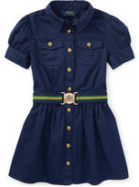 Polo Ralph Lauren Ralph Lauren Toddler Girls Chino Shirtdress