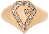 Jacquie Aiche Diamond & yellow-gold ring