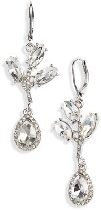 CRISTABELLE Crystal Abstract Drop Earrings