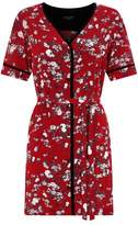 Rag & Bone Zac Floral Shirt Dress