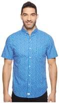 Vineyard Vines Short Sleeve Woodblock Floral Slim Murray Shirt