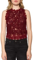 Willow & Clay Women's Textured Lace Tank