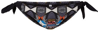 Girls On Film Vero Moda Babuska Bow Tribal Bikini Bottoms