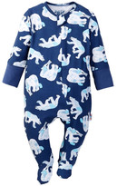Beanstalx Eric Carle Polar Bear Zipsuit Footie (Baby Boys)