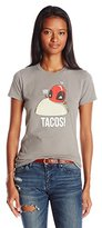 Marvel Juniors Yay Tacos Deadpool Graphic Tee
