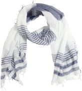 Il Gufo Striped Cotton Gauze Scarf