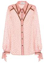 Coach Printed georgette blouse