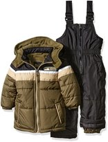 iXtreme Little Boys' Toddler Colorblock Snowsuit
