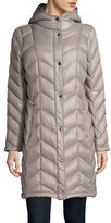 Calvin Klein The Coat Edit Packable Down Chevron Puffer Jacket