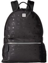 MCM Dieter Monogrammed Nylon Medium Backpack Backpack Bags