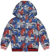 Gucci Tiger Print Quilted Jacket