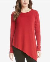 Karen Kane Asymmetrical-Hem Sweater