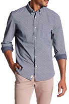 Timberland Dotted Long Sleeve Trim Fit Shirt