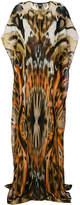 Just Cavalli graphic leopard print kaftan