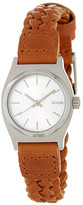 Nixon Women's The Small Time Teller Leather Strap Watch