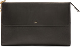 Chloé Grained Leather Flat Pouch