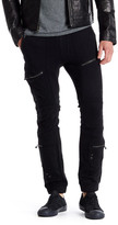 Rogue Leather Trim Jogger Pants