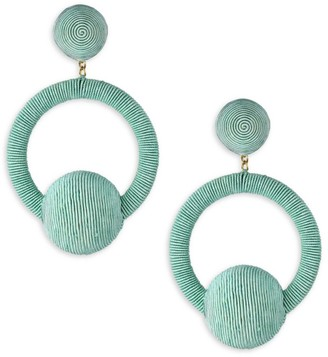 Rebecca De Ravenel Yasmin Hoop La La Earrings