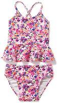 Old Navy Floral Peplum-Hem Tankini for Toddler