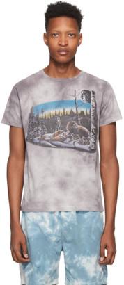 Remi Relief Grey Tie-Dye Animal T-Shirt