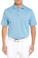 Bobby Jones Men's Xh20 Freckle Jacquard Stretch Golf Polo