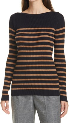 SEVENTY VENEZIA Stripe Wool Sweater