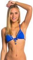 Bikini Lab Swimwear Bead It Triangle Bikini Top 8146271