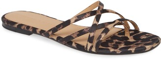 Veronica Beard Martha Flat Sandal