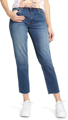 STS Blue Caroline High Waist Straight Leg Crop Jeans