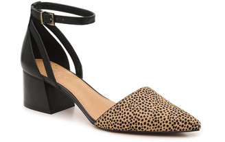 Crown Vintage Women's Vavi Pumps Prints Animal Size 5 Suede / faux leather or calf hair upper From Sole Society