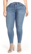 Melissa McCarthy Plus Size Women's High Waist Stretch Pencil Jeans