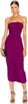 Norma Kamali Slinky Dress in Raspberry   FWRD