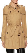 Burberry Cotton Belted Trench