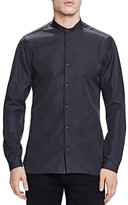 The Kooples Faille Slim Fit Button Down Shirt