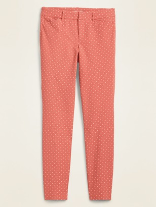 Old Navy Mid-Rise Pixie Full-Length Skinny Pants for Women
