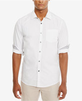 Kenneth Cole Reaction Men's Slim-Fit Dot-Pattern Cotton Shirt