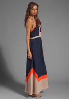 Greylin Amanda Embroidered Maxi Dress