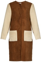 Inès & Marèchal Astorg shaved-shearling coat