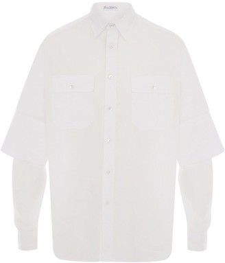 J.W.Anderson DOUBLE CUFFS SHIRT