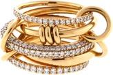 SPINELLI KILCOLLIN Venus Five Link Diamond Pave Rings