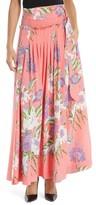 Diane von Furstenberg Women's Floral Silk Maxi Skirt